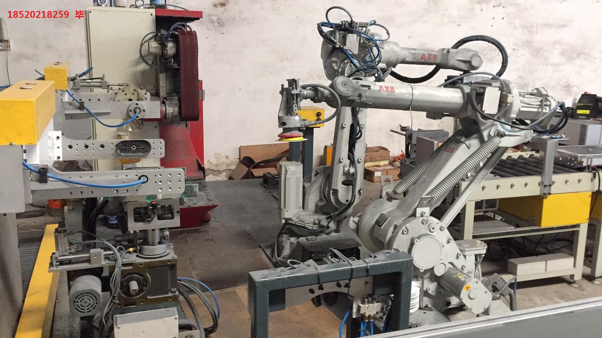 机器人打磨工作站