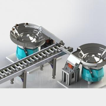 固定金属片自动送料机器