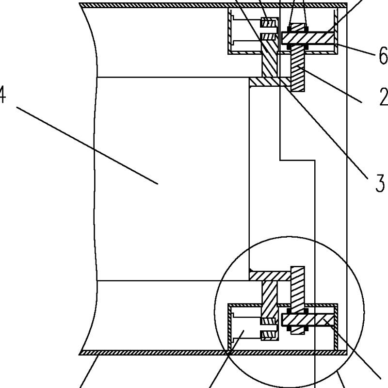 飞行器可调式锁紧解锁与支撑装置
