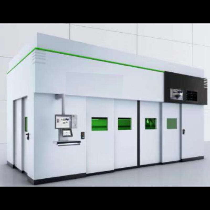 JHL2000同轴送粉同位轧制激光复合制造装备