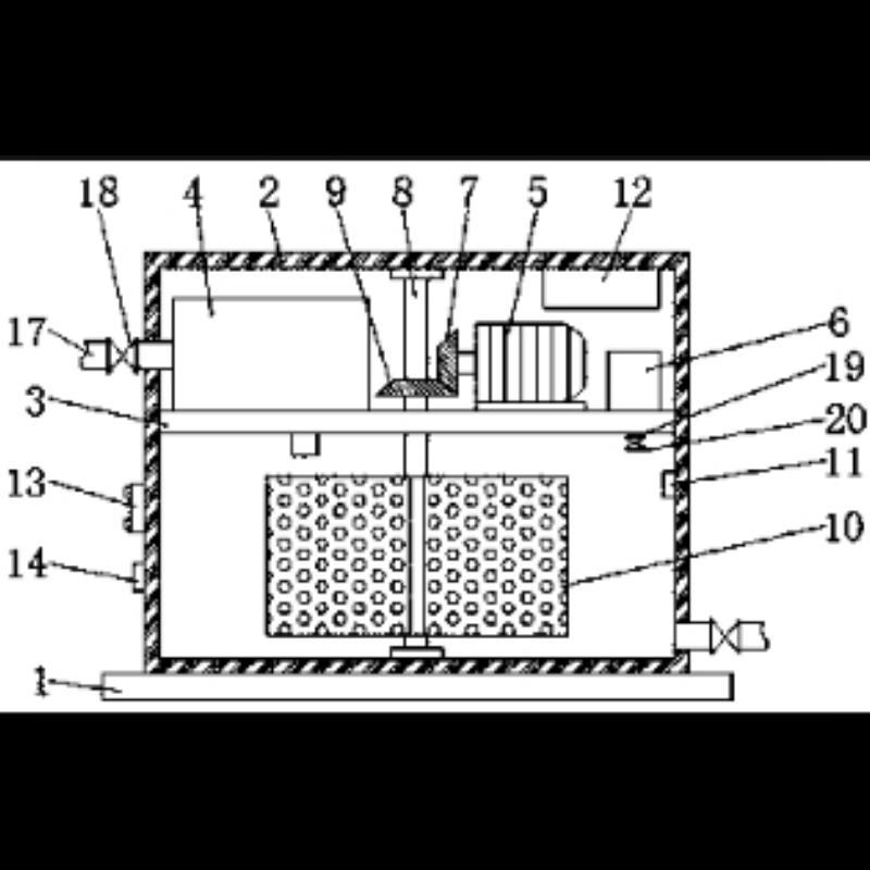 一种新型环保水处理设备自动控制设备