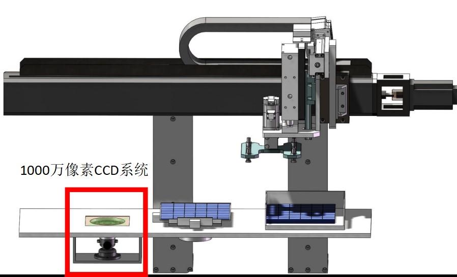 高精度太阳能电池片视觉定位系统